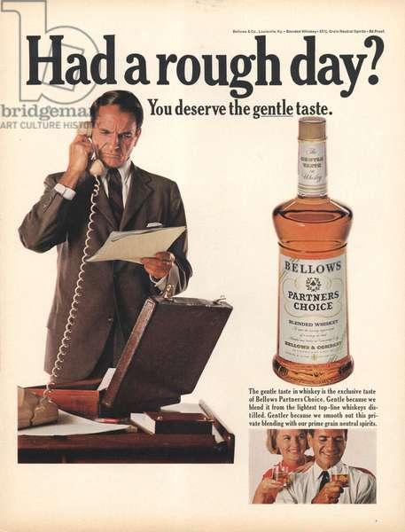 Bellows Magazine, advert, USA, 1960s