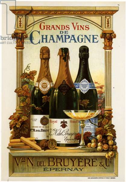 Champagne Poster, France, 1930s