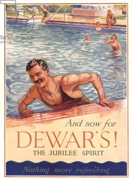 Dewar's Magazine Advert, UK, 1930s
