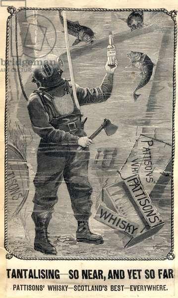 Patisons Whisky Magazine, advert, UK, 1890s