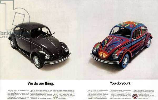 Volkswagen Magazine Advert, UK, 1970s