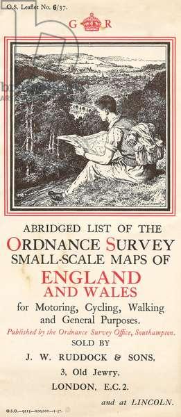 Ordnance Survey Maps Magazine Advert