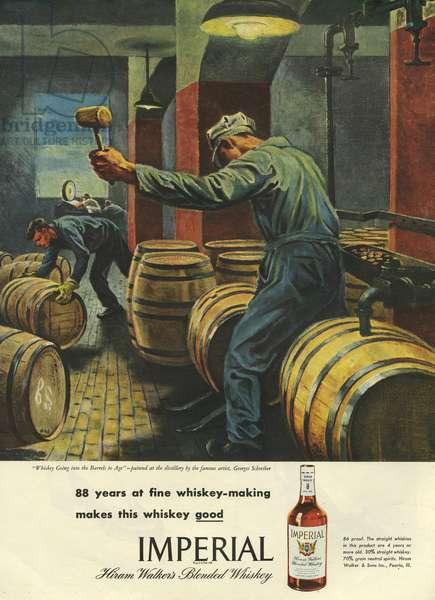 Imperial Magazine Advert, USA, 1940s