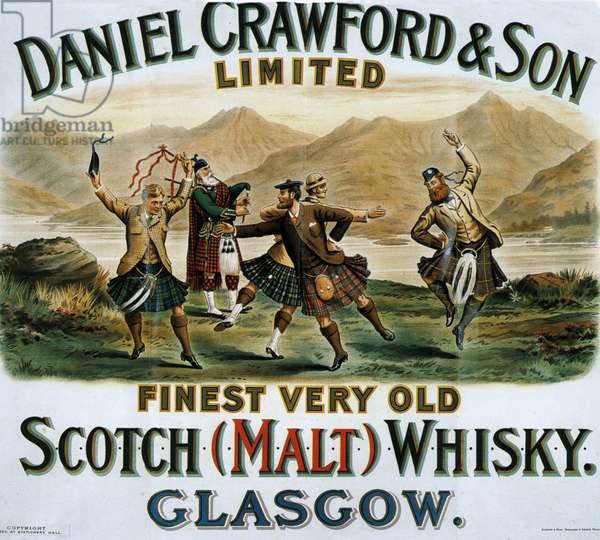 Daniel Crawfords & Son Poster, UK, 1890s