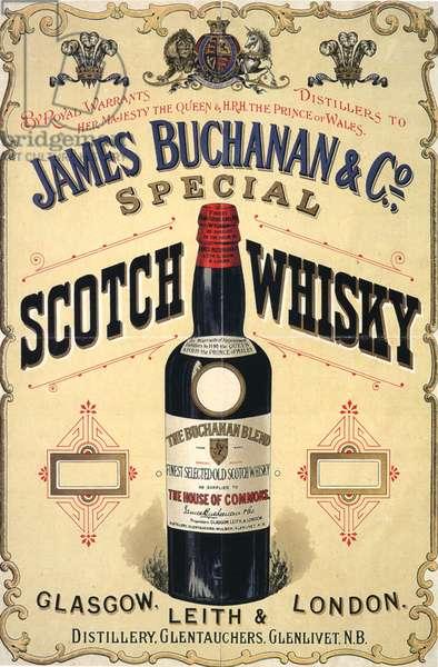 James Buchanan and Co Magazine, advert, UK, 1890s