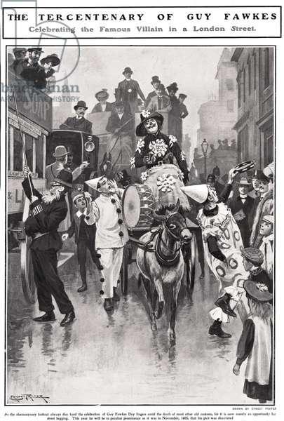 Guy Fawkes Magazine Cover, UK, 1910s