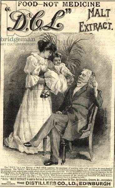 The Distillers Co Magazine, advert, UK, 1880s
