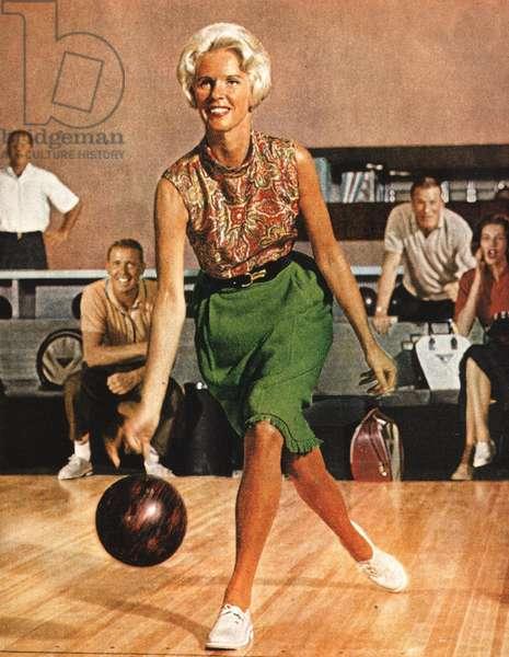 Bowling Magazine Plate, USA, 1960s