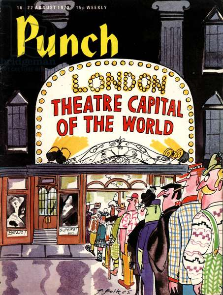 Punch Magazine Cover, UK, 1970s