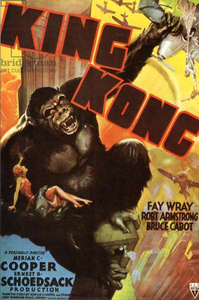 King Kong Film Poster, USA, 1930s