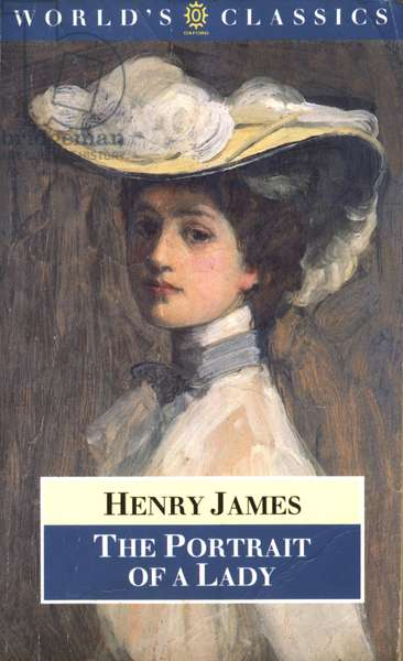 Portrait of a Lady by Henry James Book Cover, UK, 1980s