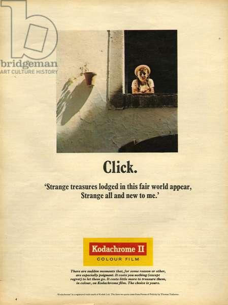Kodak Magazine Advert, UK, 1970s