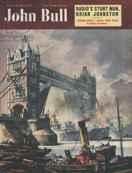 John Bull Magazine Cover, UK, 1950s