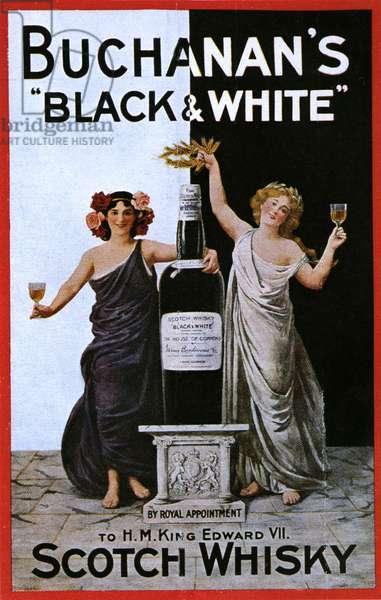 Buchanan's Poster, UK, 1900s