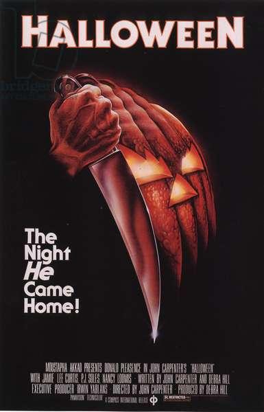 Halloween Film Poster, USA, 1970s