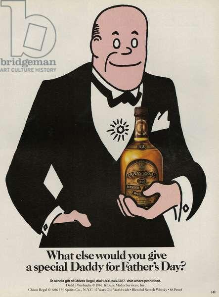 Chivas Regal Magazine Advert, USA, 1980s