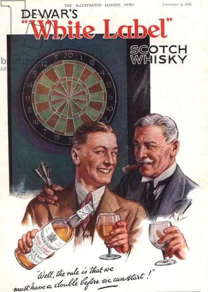 Dewar's Magazine, advert, UK, 1940s