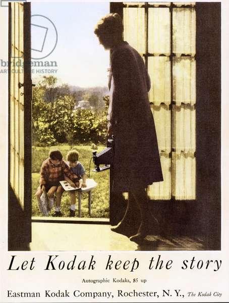 Kodak Magazine, advert, USA, 1920s