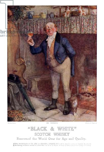 Buchanan and Co Magazine, advert, UK, 1910s