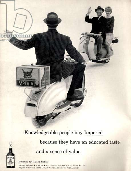 Imperial Magazine, advert, USA, 1950s