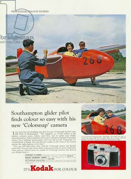 Kodak Magazine, advert, UK, 1950s