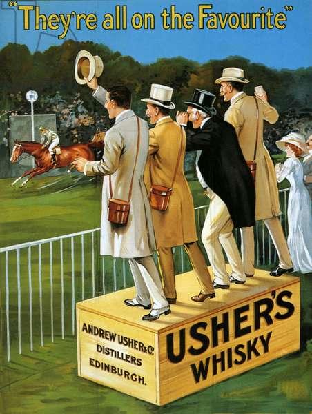 Usher's Poster, UK, 1910s
