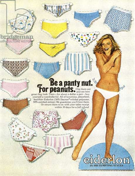 1970s USA, Eiderlon Magazine Advert