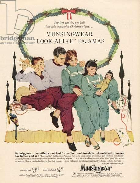 munsingwear pajamas