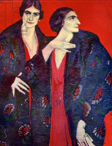 1910s UK Colour Magazine Plate