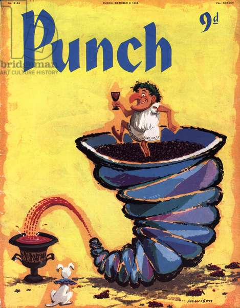 Punch Magazine Cover, UK, 1950s