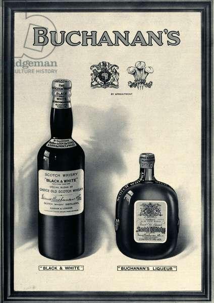 Buchanan's Magazine Advert, UK, 1920s