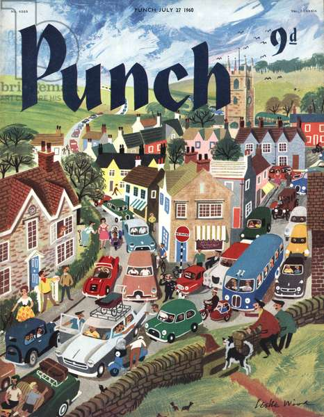 Punch Magazine Cover, UK, 1960s