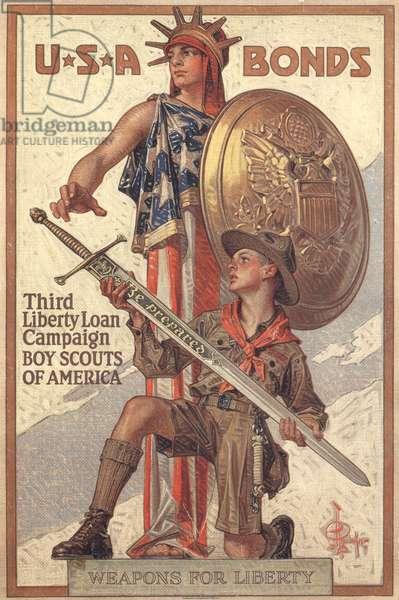 Liberty War Bonds, poster, USA, 1910s