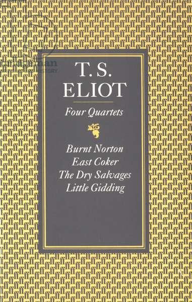 Four Quartets Book Cover, UK, 1960s