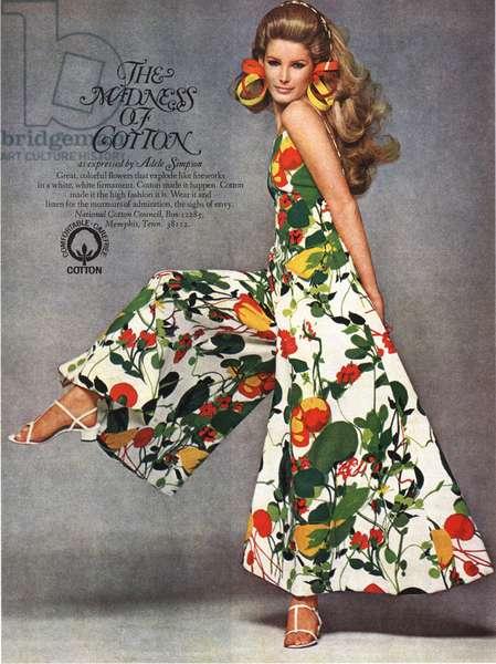 Cotton Magazine, advert, USA, 1960s