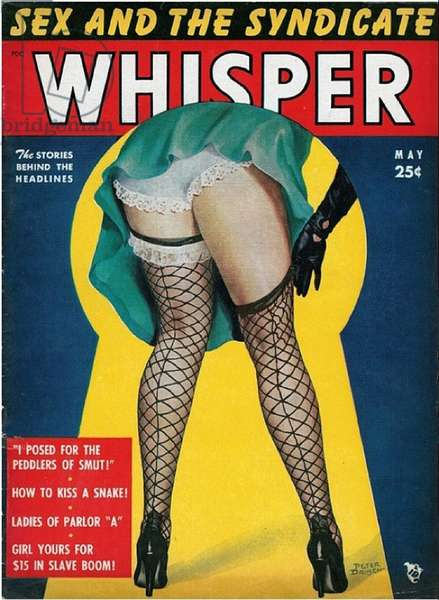 Whisper Magazine Cover, USA, 1940s