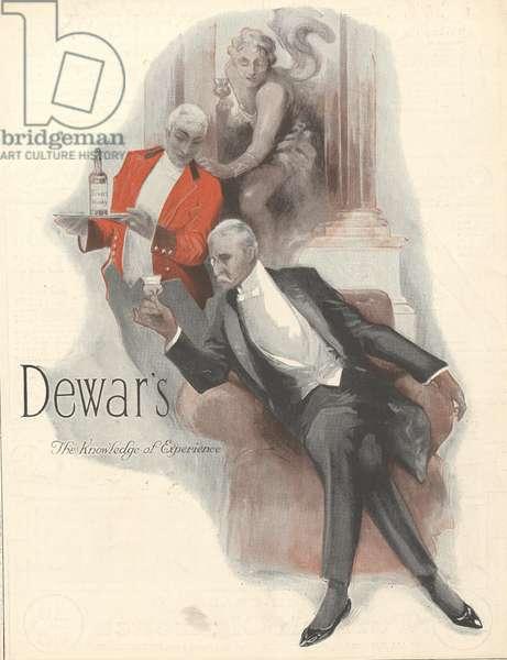 Dewar's Magazine, advert, UK, 1920s