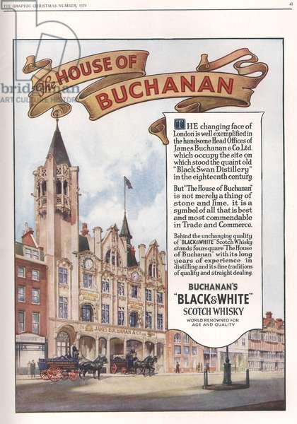 Buchanan's Magazine, advert, UK, 1920s