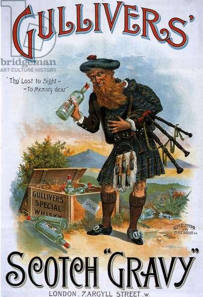 Gulliver's Poster, UK, 1890s