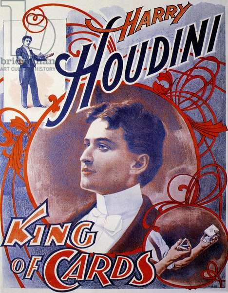 Harry Houdini Poster, UK, 1910s