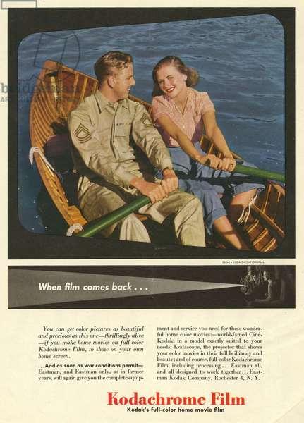 Kodak Magazine Advert, USA, 1950s