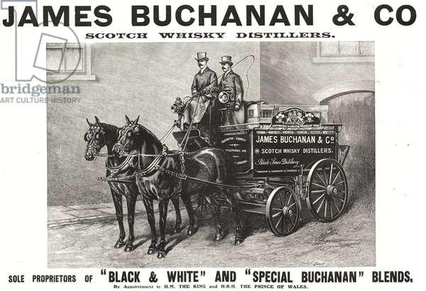 James Buchanan's Whisky Magazine, advert, UK, 1900s