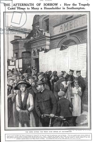 The Titanic Magazine Plate, UK, 1910s