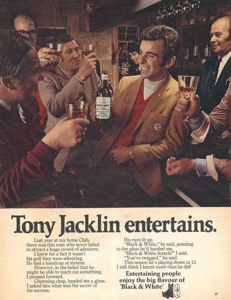 Black and White Magazine, advert, UK, 1970s