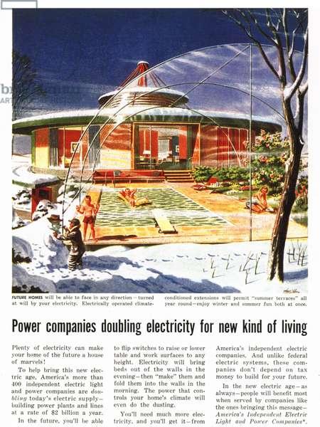 Futuristic Magazine, advert, USA, 1960s