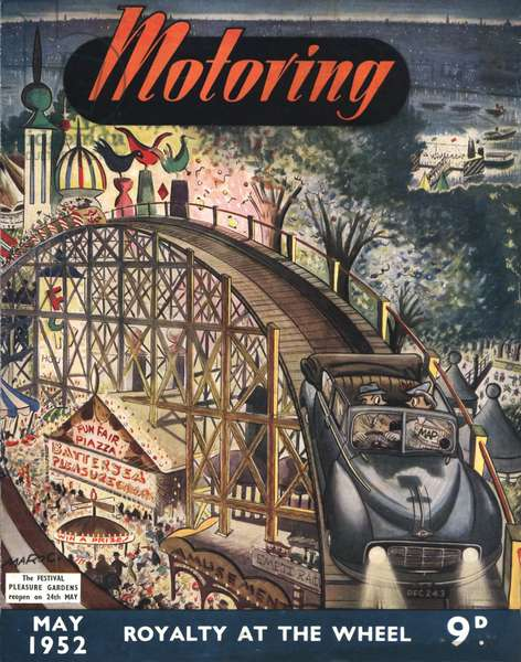 Motoring Magazine Cover, UK, 1950s