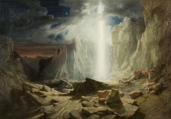 Israelites passing through the Wilderness