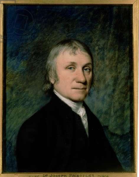 Dr. Joseph Priestley, c.1790 (pastel on grey paper)