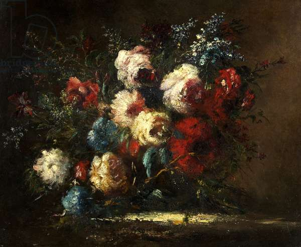 Flower Piece, 1842 or 1849 (oil on canvas)