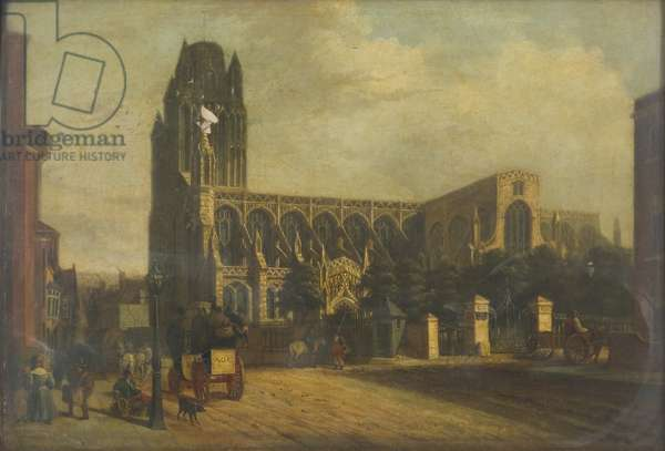 Redcliffe Church, 1830-35 (oil on canvas)